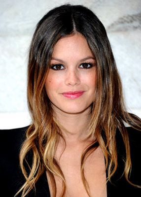 Mechas californianas (Ombre hairstyle).
