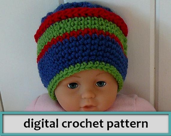 PATTERN: Baby Ski Hat