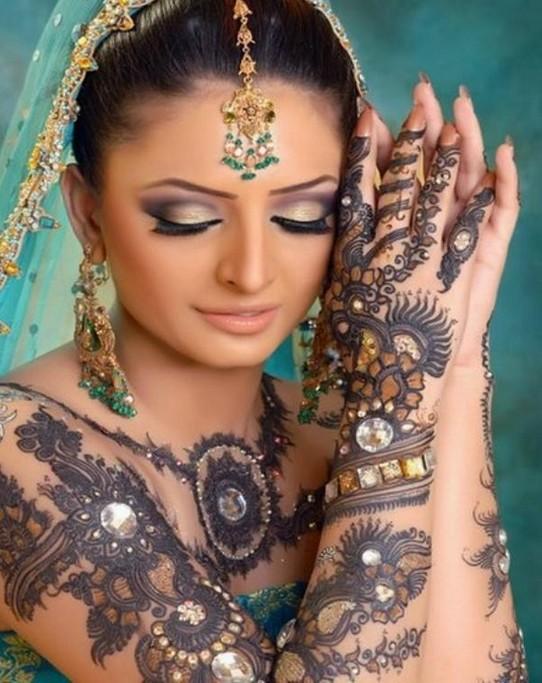 Mehndi Bride S : Mehndi designs for hands indian bridal