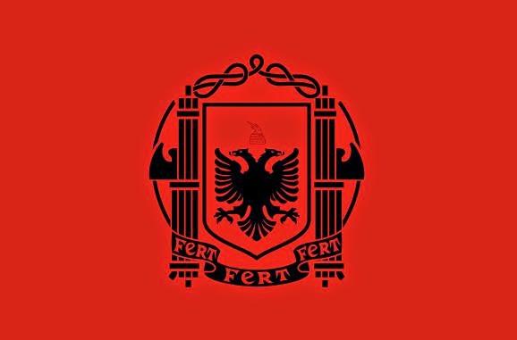 Flag of Albania (1939-1943)