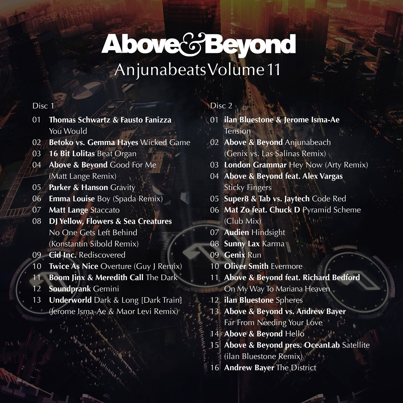 Above & Beyond announce Anjunabeats Volume 11 Tracklist and premiere Trailer