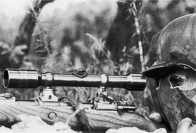 #German Sniper with Karabiner 98k