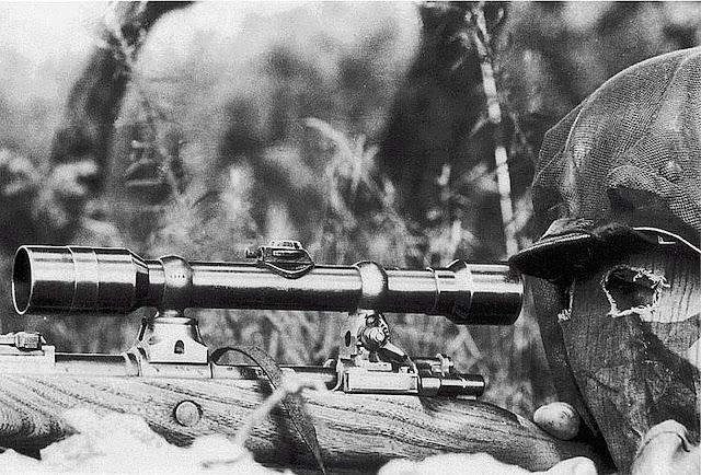 #German Sniper with Karabiner 98k