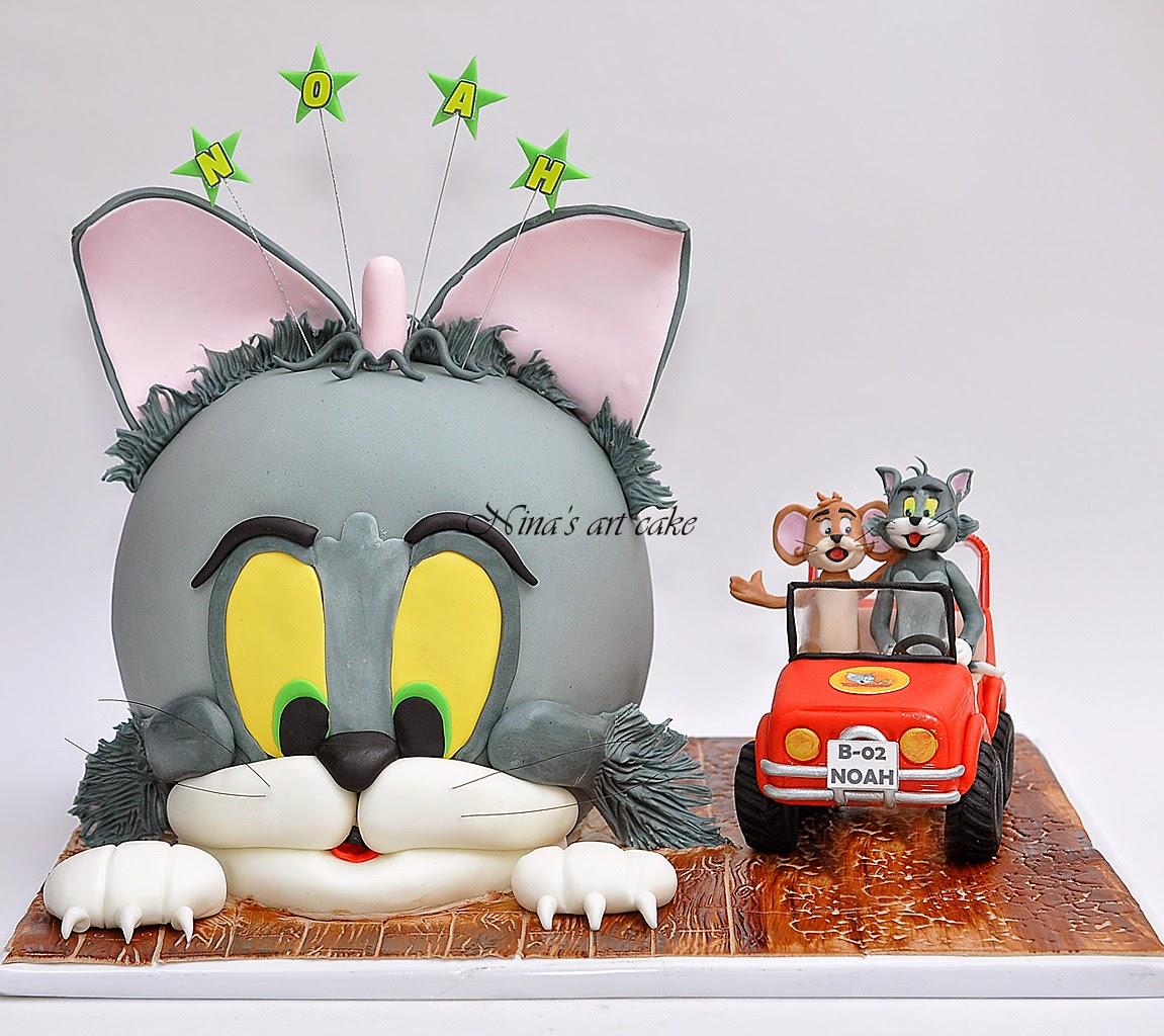 "Tort ""Tom & Jerry"" pentru Noah"