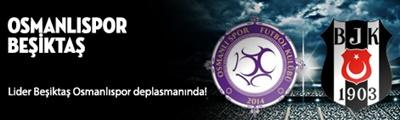 Beşiktaş - Osmanlıspor Canlı