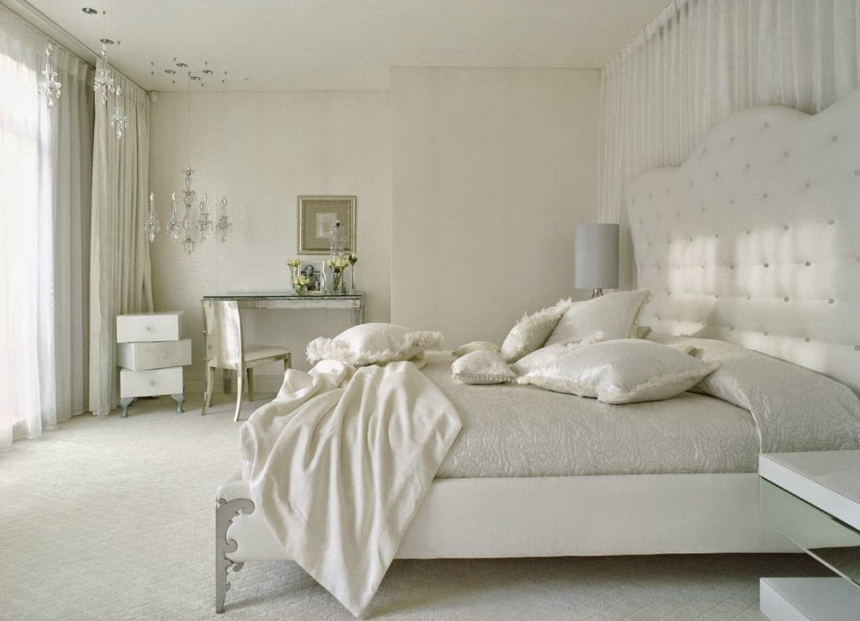 White Bedroom Design Classic