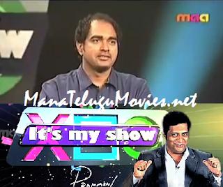 PrakashRaj's Its My Show -26th Apr :Gamyam Krish as Guest