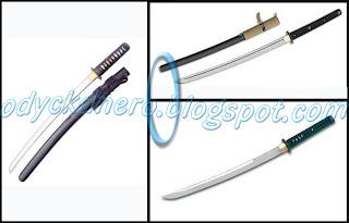 Wakizashi Pedang Samurai Jepang