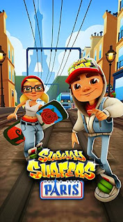Screenshots of the Subway surfers: World tour Paris for Android tablet, phone.
