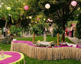 Outdoor weddings decoration