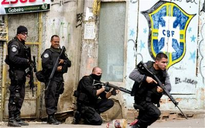 2 Uniknya, Kacamata Robocop yang Digunakan Polisi Brazil