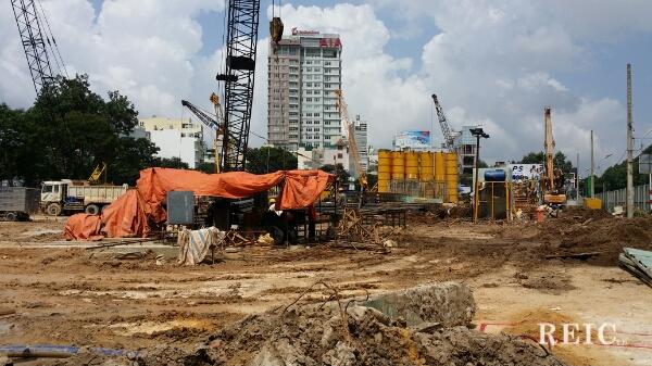 Tiến độ The One HCMC - Tháng 08 năm 2014
