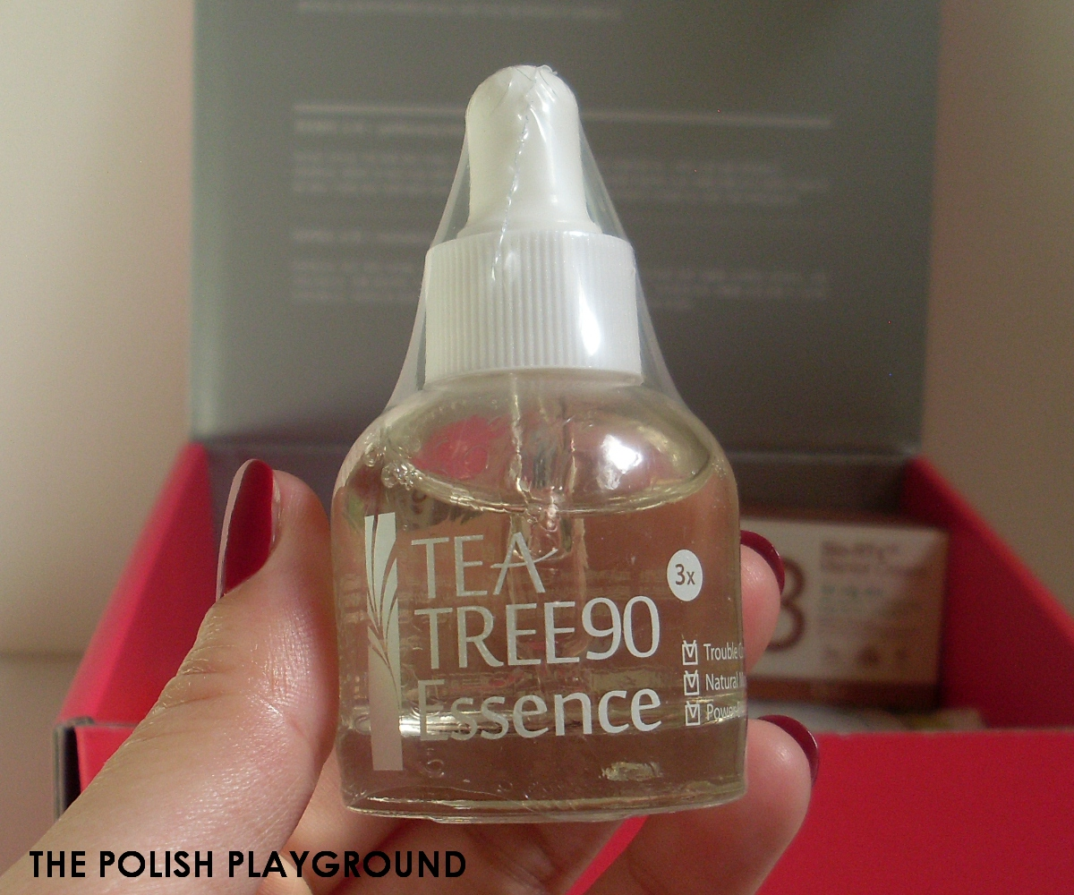 Memebox Luckybox #2 Unboxing - LJH Tea Tree 90 Essence
