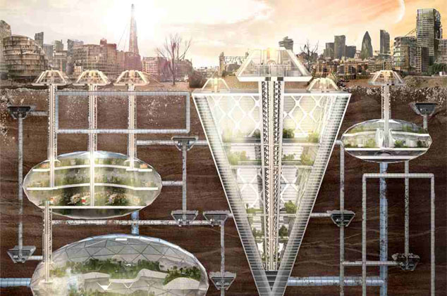 Underground Living in the City of Tomorrow (1925 ...
