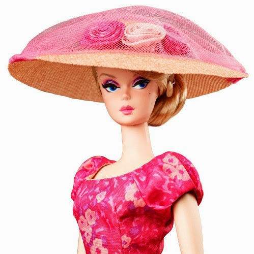 JUGUETES - BARBIE Collector  Fashion Model Collection | Gold Label  Fashionably Floral | Silkstone | Muñeca  Producto Oficial 2015 | Mattel CGK91 | Edad: Coleccionistas Adultos
