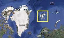 Arquipélago de Svalbard no Ártico