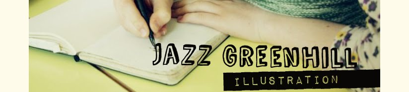 Jazz Greenhill Illustration.