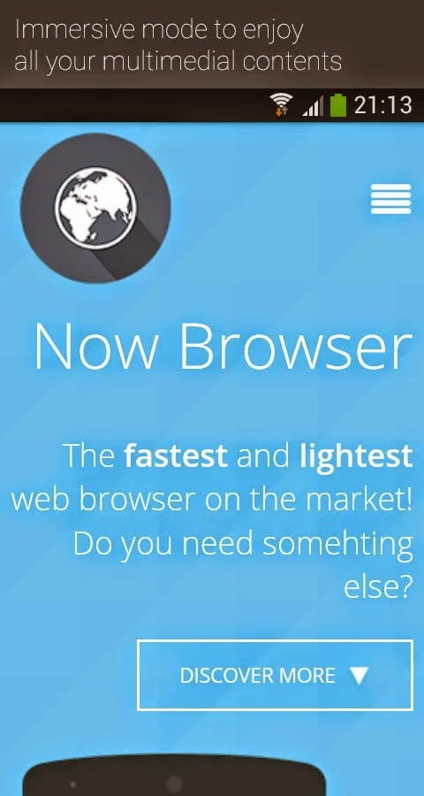 Now Browser Pro (Material) v2.9.3
