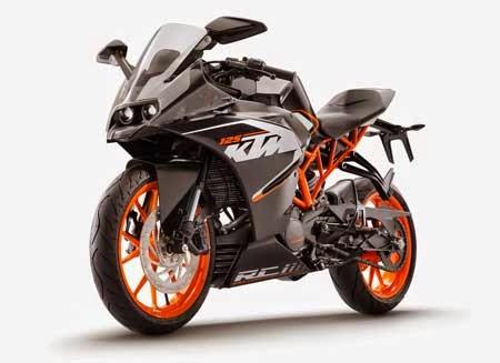 Gambar motor sport KTM terbaru