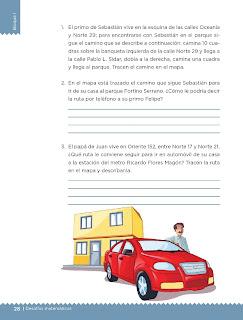 Apoyo Primaria Desafíos matemáticos 5to grado Bloque I lección 11 ¿Cómo llegas a...?