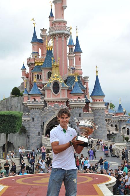 Rafa Nadal Disneyland Paris
