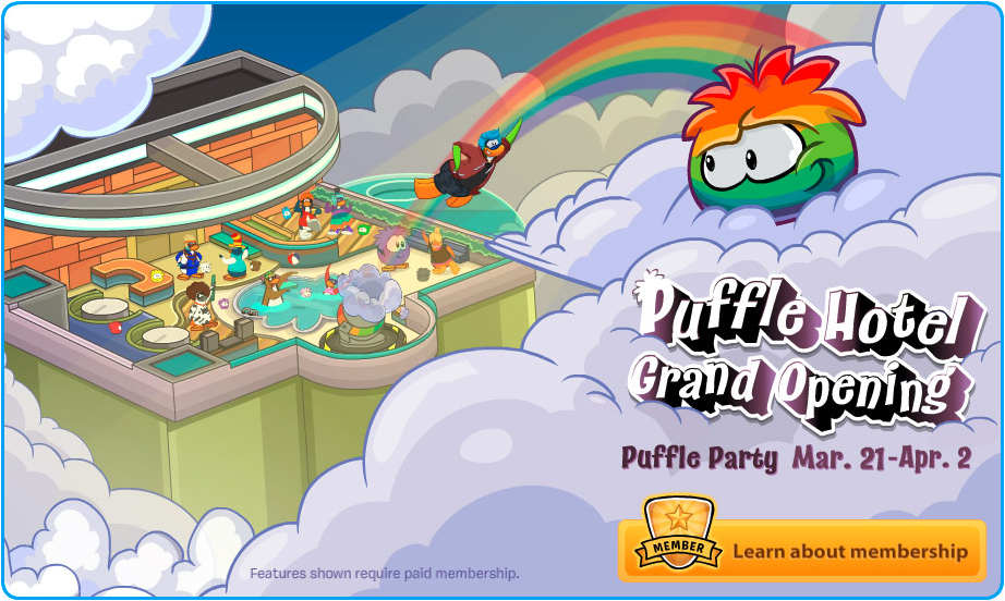 how to get the rainbow puffle in club penguin online