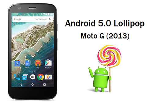 MOTO G ANDROID LOLLIPOP OFICIAL