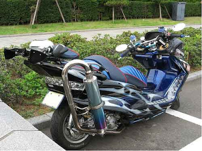 Modern Motorcycle  Specification Yamaha Majesty