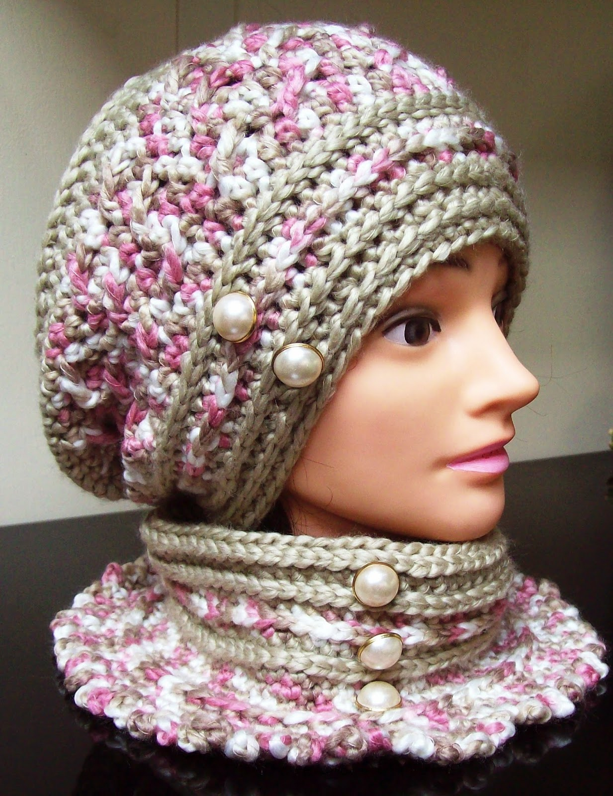 Free Crochet Beanie Beret Pattern : Free Crochet Patterns By Cats-Rockin-Crochet