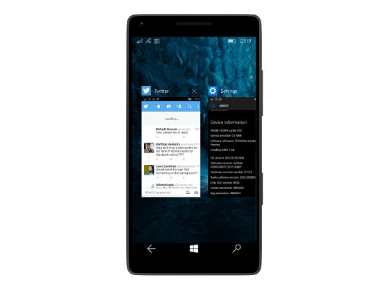 Windows phone multi-task