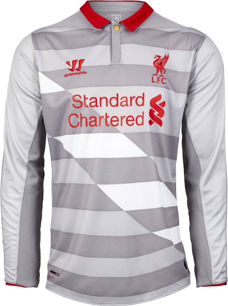 The Liverpool 14-15 Goalkeeper Away and Third Kits are using templates ...