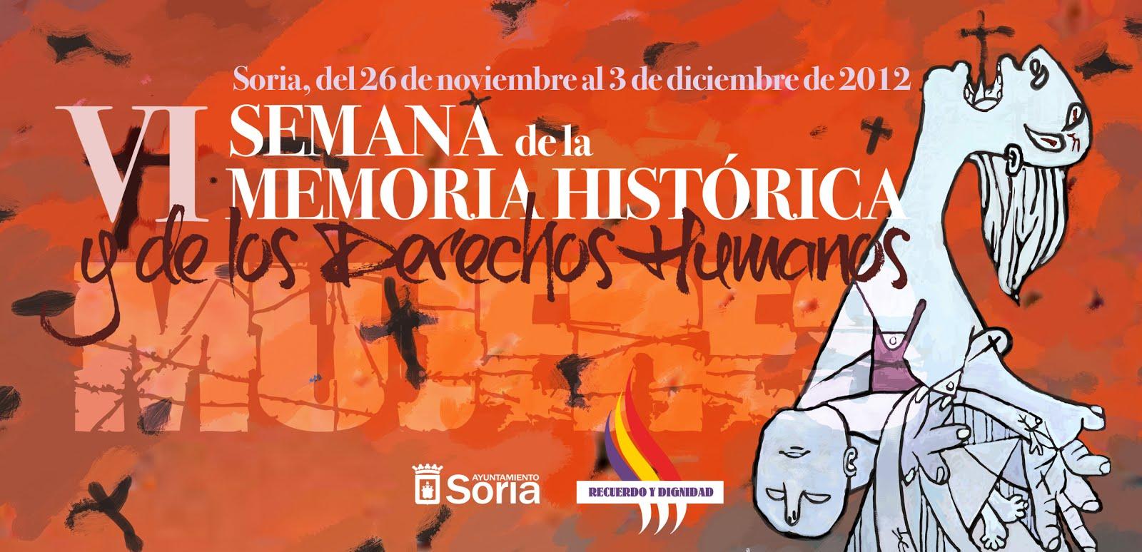 VI Semana de la memoria histórica y los derechos humanos