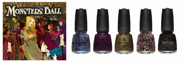 China Glaze Monsters Ball Halloween 2013