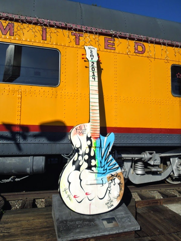 Doublebooked SSMF 2014 tribute guitar