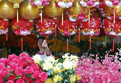 Beautiful Chinese New Year Decorations In Australia