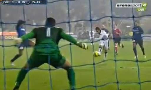 Parma-Inter 1-0 Sansone