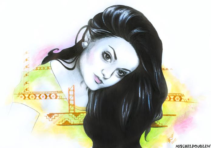 My Illustration for Mishella