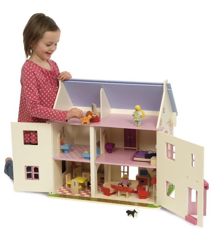 plan maison de barbie en bois. Black Bedroom Furniture Sets. Home Design Ideas