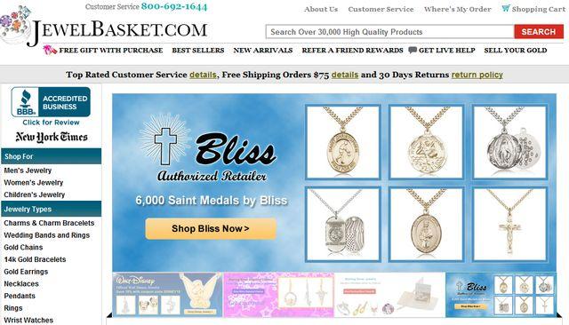 Religious Jewelry by JewelBasket.com