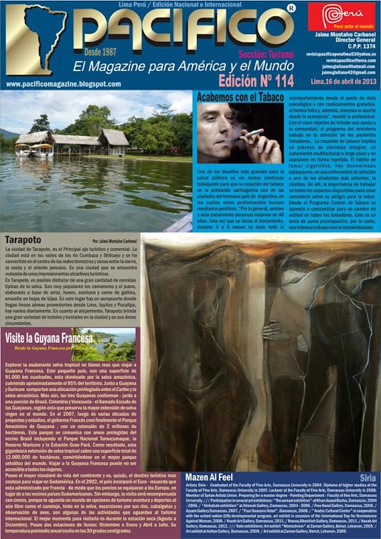Revista Pacífico Nº 114 Turismo