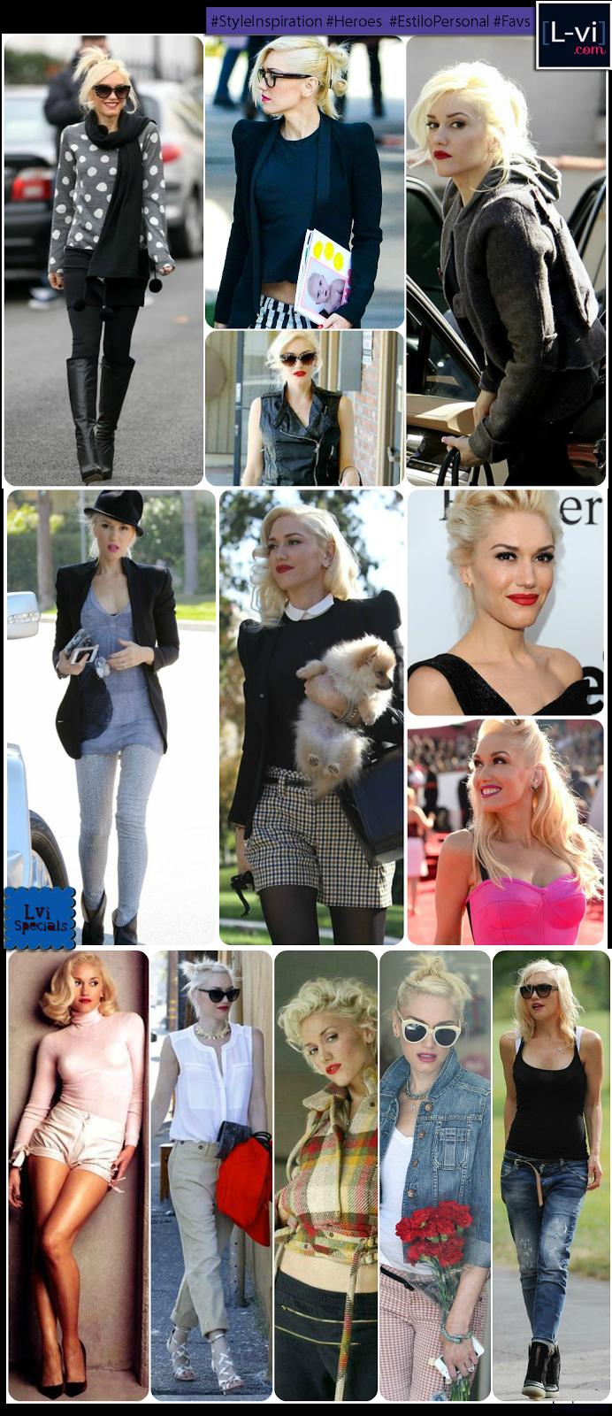 [Style Inspiration]: Gwen Stefani / Estilo que inspira:  L-vi.com