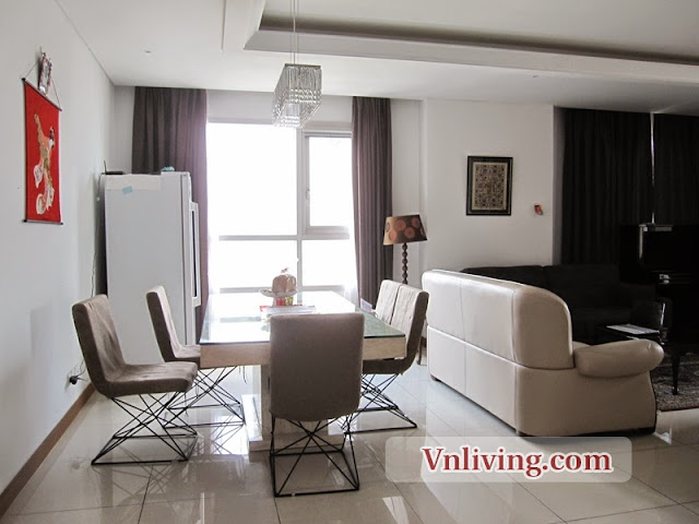 Xi Riverview apartment for rent 3 bedrooms luxury furniture