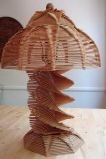 ... kerajinan dari stik es krim contoh hasil karya kerajinan dari stik es