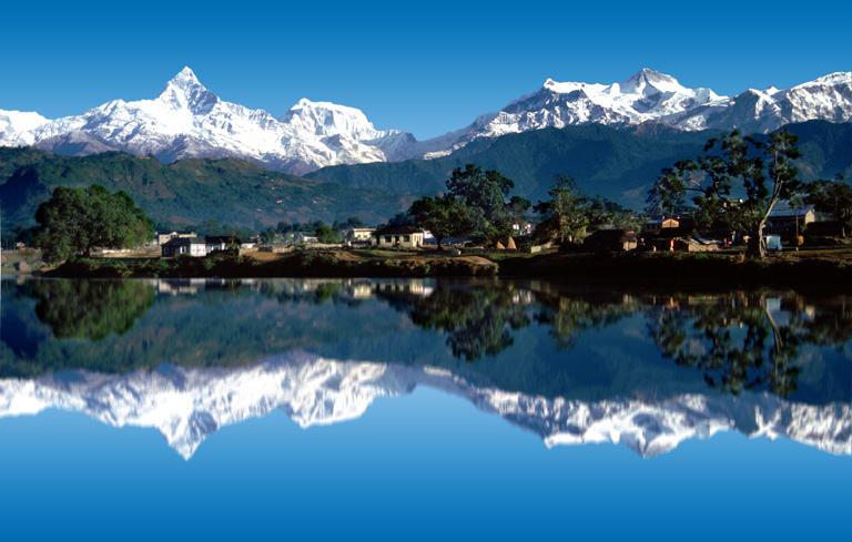 The mountains of Nepal