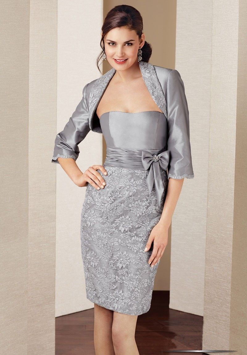 Mother Of The Bride Jacket Dresses 68