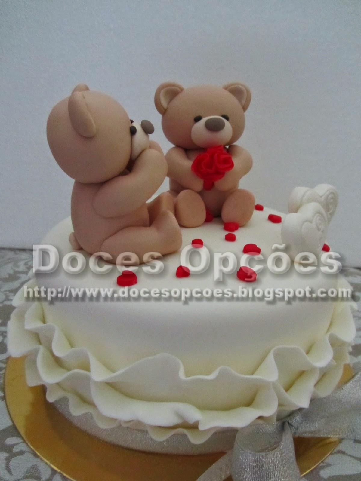 teady bear cake