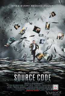 Watch Source Code 2011 BRRip Hollywood Movie Online | Source Code 2011 Hollywood Movie Poster