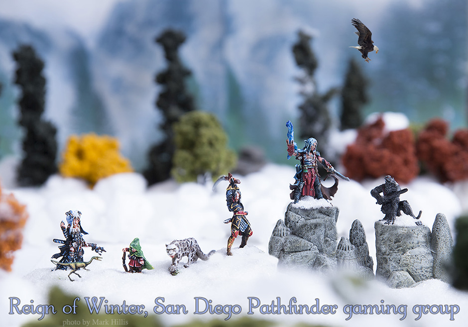 Reign of Winter, San Diego Pathfinder gaming group