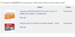 SDHC card 16 GB