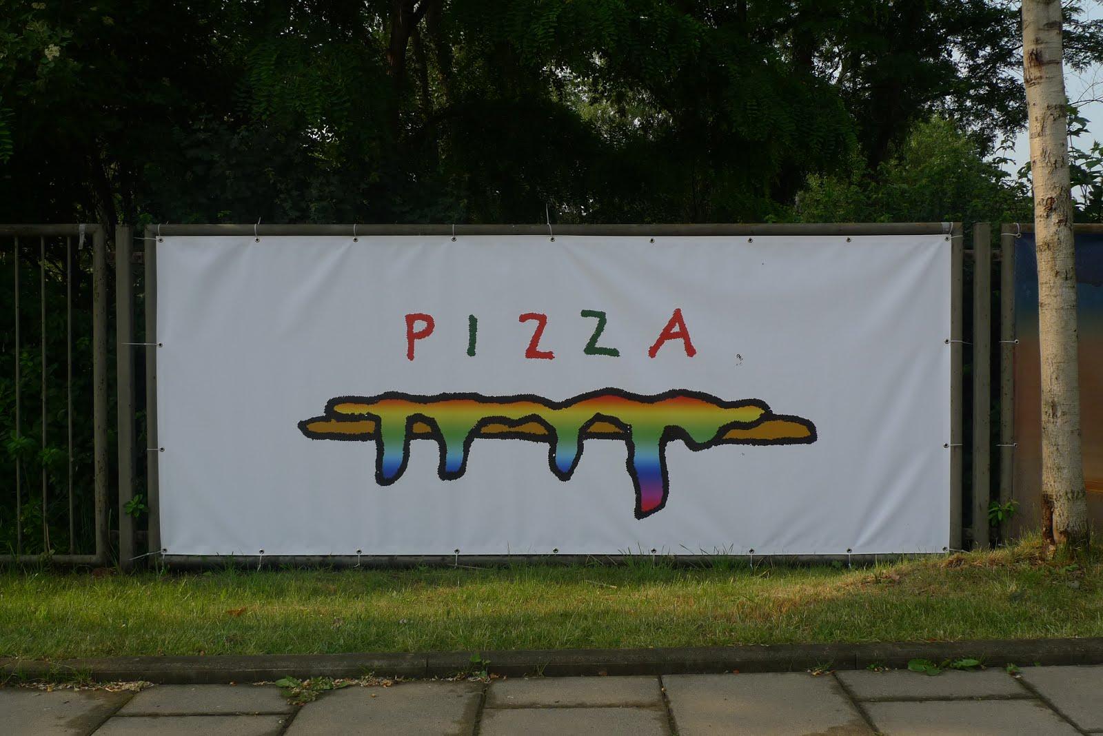 Banner für die Eastside Gallery Dresden